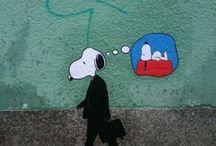 kresba zeď
