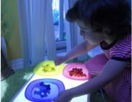 Lysbord / Light table
