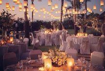 ilumina tu boda con velas o bombillas de forma original / Mil ideas para iluminar tu boda, tanto en una finca al aire libre como en salones de boda o carpas de interior.
