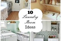 Laundry/mud room / by Amanda Speer