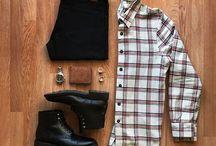 calça e camisa soçial