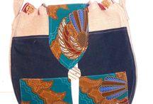 Toutes mes créations, réalisations et conceptions 100% fait main / Toutes mes créations,pièces uniques réalisations et conceptions travail artisanal de vêtements et sacs avec du tissu BATIK provenant d'ASIE surtout d'Indonésie pays de mes anciennes origines.
