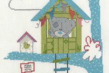 Tatty Teddy Cross Stitch Kits