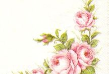 Molduras de flores e outras