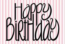 Cumpleaños y demas