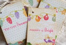 stamping: tags / by Helen LeBrett
