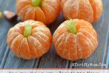 Fall, Halloween and Thanksgiving for Kids / Fall, Halloween and Thanksgiving themed snacks, crafts and activities for kids and families.