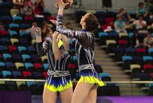 Russische Sportakrobaten / Sportakrobatik in Russland