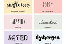 fonts graphics