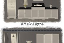 The Sims 2 bathroom downloads