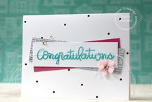 Congratulations / by Scrapbook & Cards Today
