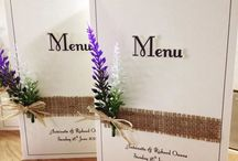 Rustic stationery (our work) / Stunning rustic stationery for weddings and parties. Invitations, table plans, seating plan, table names, table numbers, place cards, post box and more. www.amanda-jane.co.uk