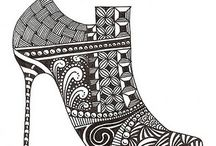 zentangle schoenen