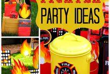 petrecere cu pompieri