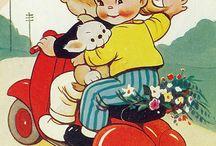 Niños vintage