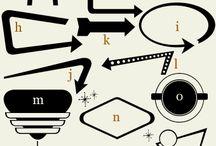 Creative Fonts, Letters, Alphabetical Inspiration