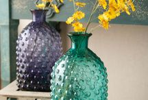 Glass bottels - in decor