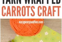 Wrapped carrot craft