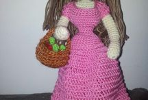 Soft toys crocheted