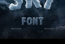 Effects and fonts