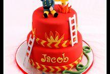 Brandweerman Sam taarten