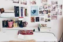 Desk Space Goals / You'll probably spend quite a bit of time burrowed in stationary at your uni desk, essays don't write themselves, after all! Get inspired with these amazing desk spaces, and transform your uni room into a cosy hub of creativity.