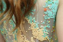 fabrics and textiles / by Anna Ward