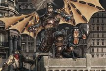 Superheroe Steampunk / character creation