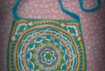 Bolso mandala a crochet / bolso tejido a crochet con diseño mandala