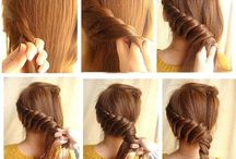 Updo's for medium to long hair