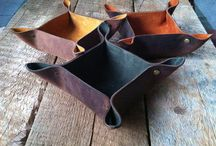 Projects for leather scraps