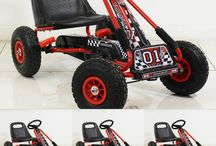 Go Kart Pedal Motorbike Kids Toy Game Children Red And Black Christmas Xmas Gift