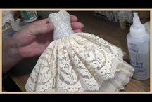 arte dei vestiti miniature