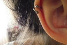 Helix Piercing ear