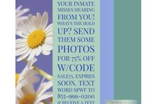 Send photos to your inmate - SPWF with Pigeonly