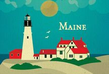 A Maine / by Vicky Pirtle-Corbello
