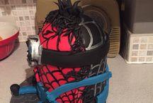 SpiderMan minion being taken over by Venom / As requested by my 6 year old SpiderMan minion being taken over by Venom
