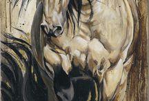 horses, art, quotes~
