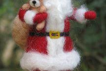 naaldvilten kerst