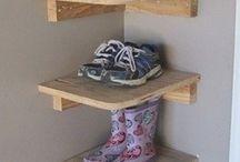 Schoenen opruimen