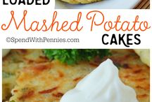 Loaded Mash Potatoe Cakes