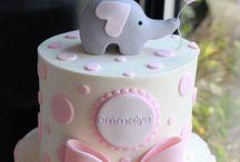 Baby Shower Cake - Girl
