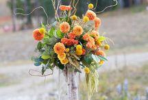 flower center piece's