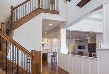 Stairwell - Sterling Custom Homes