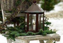 Udendørs julepynt til haven