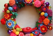 Crochet Holidays / Patterns, ideas and inspiration  Christmas, New Year, Halloween, parties