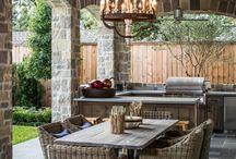 Outdoor Kitchen / by Callie Montgomery