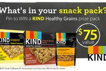 KIND Snack-Pack Contest / PIN to WIN! Pin your favorite back-to-school snacks for a chance to win a KIND Healthy Grains prize pack! / by Vitacost.com