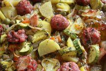 Assado de legumes