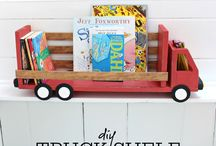 DIY Kids Bedroom Decor / Do It Yourself Kids Bedroom Decor.  Items you can make yourself (hint: or for your wife/kids, guys!).  With items from bunk beds, to Lego shelves, to wall decor, DIY Kids Bedroom Decor has everything you need to keep your home up to date on the latest KID design trends with Shabby Chic, Rustic and Farmhouse styling.